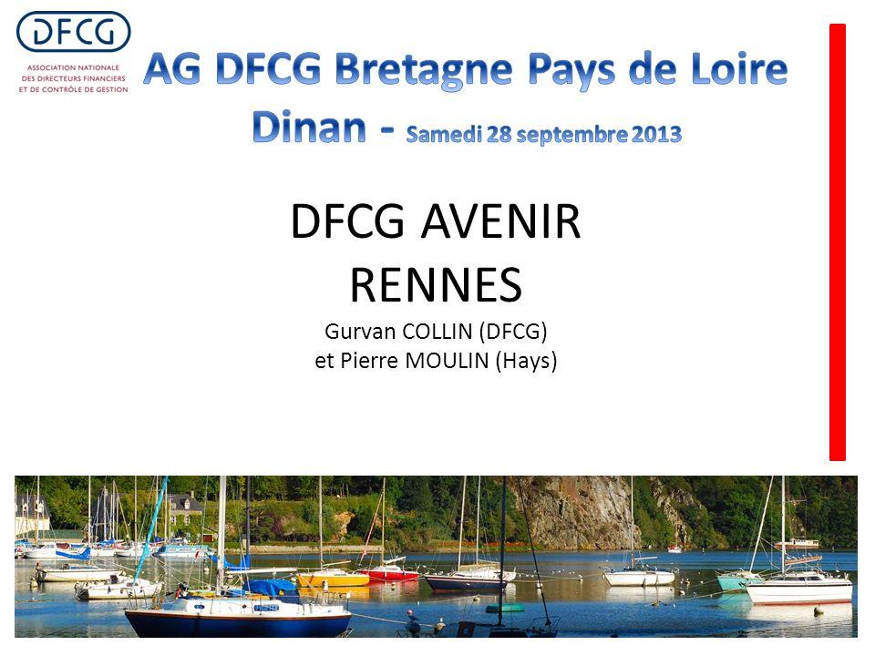 DFCG AVENIR RENNES Gurvan COLLIN (DFCG) et Pierre MOULIN (Hays)