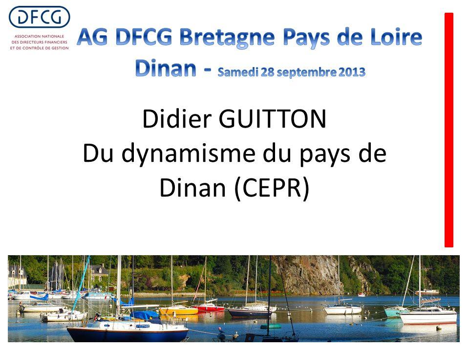 Didier GUITTON Du dynamisme du pays de Dinan (CEPR)