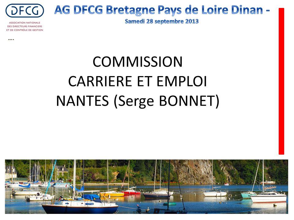 …. COMMISSION CARRIERE ET EMPLOI NANTES (Serge BONNET)