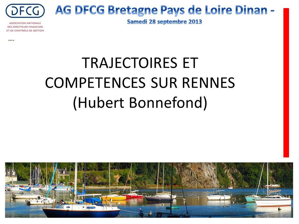 …. TRAJECTOIRES ET COMPETENCES SUR RENNES (Hubert Bonnefond)