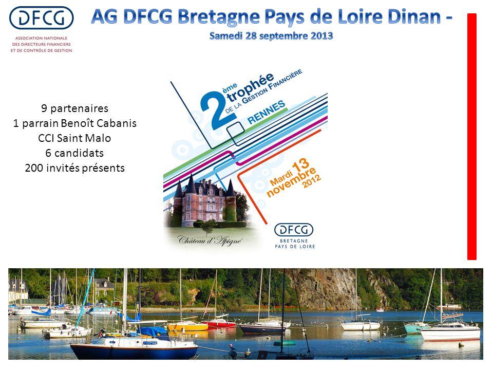 9 partenaires 1 parrain Benoît Cabanis CCI Saint Malo 6 candidats 200 invités présents