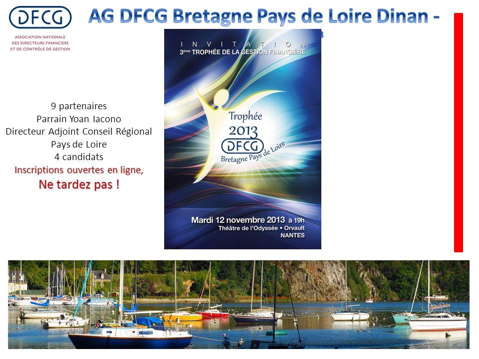 9 partenaires Parrain Yoan Iacono Directeur Adjoint Conseil Régional Pays de Loire 4 candidats Inscriptions ouvertes en ligne, Ne tardez pas !