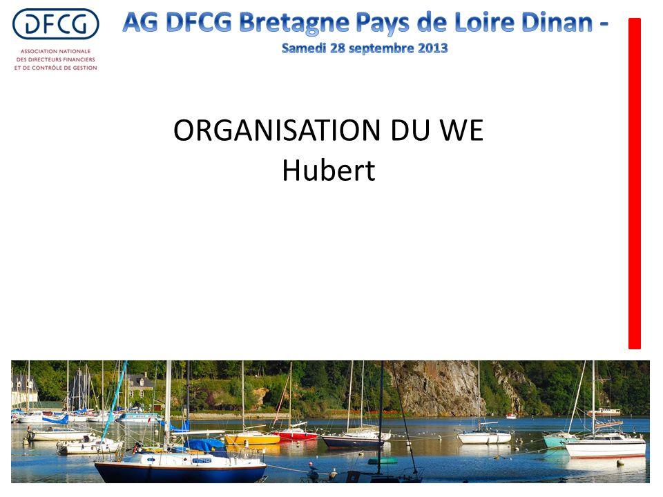 ORGANISATION DU WE Hubert