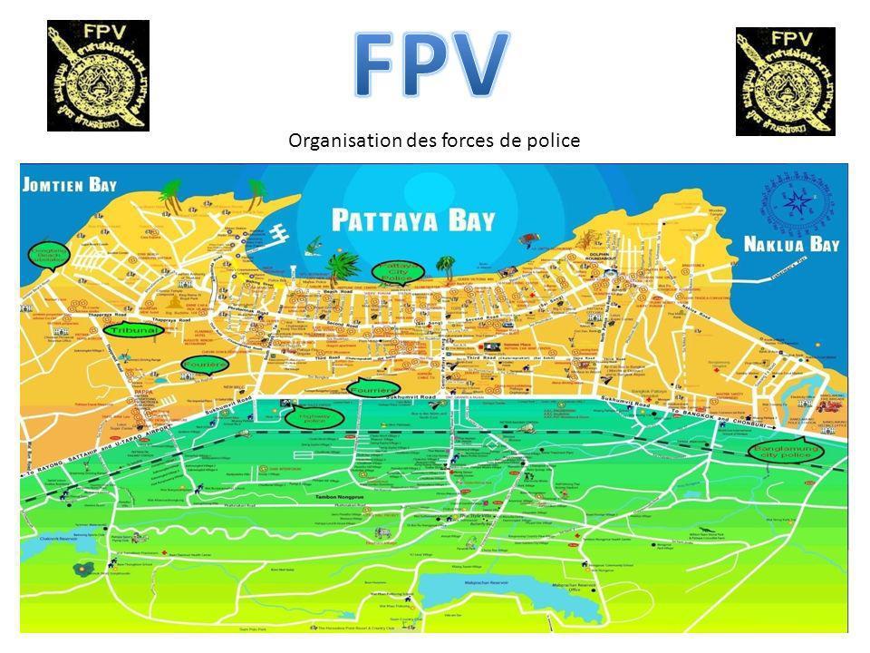 Organisation des forces de police