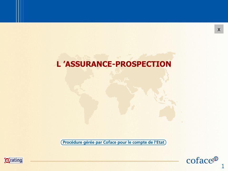 2 x 2 Le principe La prospection des marchés étrangers implique des dépenses spécifiques qui, même en cas de succès, ne samortissent que progressivement, au fur et à mesure des commandes enregistrées.