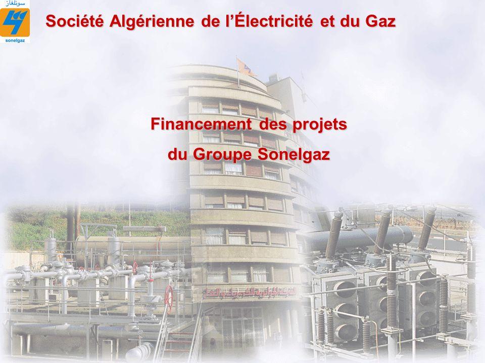 DFC 1 Financement des projets du Groupe Sonelgaz Société Algérienne de lÉlectricité et du Gaz