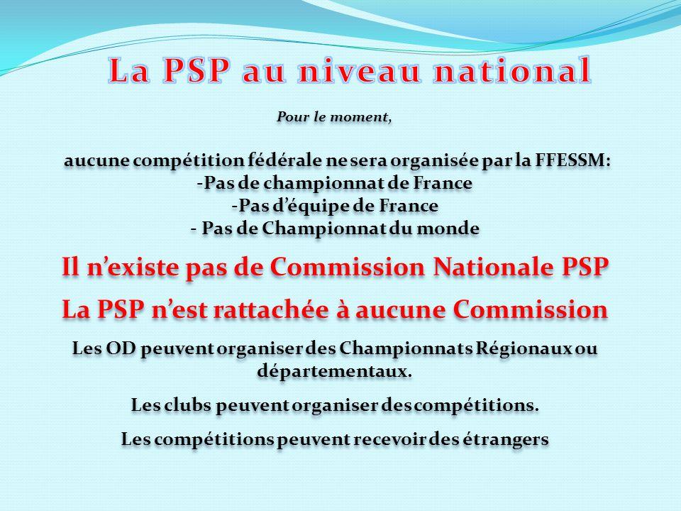 Pour le moment, aucune compétition fédérale ne sera organisée par la FFESSM: -Pas de championnat de France -Pas déquipe de France - Pas de Championnat