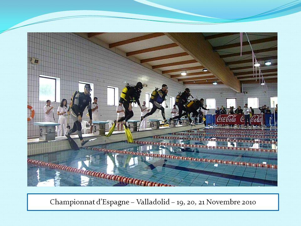 Championnat dEspagne – Valladolid – 19, 20, 21 Novembre 2010