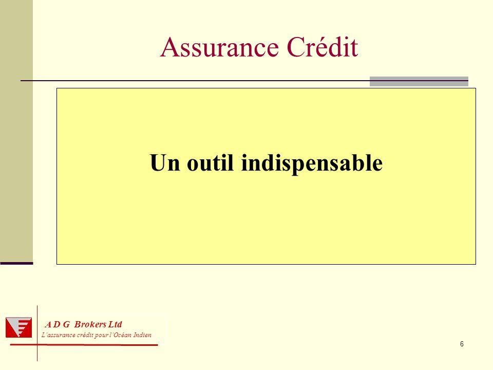 6 A D G Brokers Ltd Lassurance crédit pour lOcéan Indien Assurance Crédit Un outil indispensable