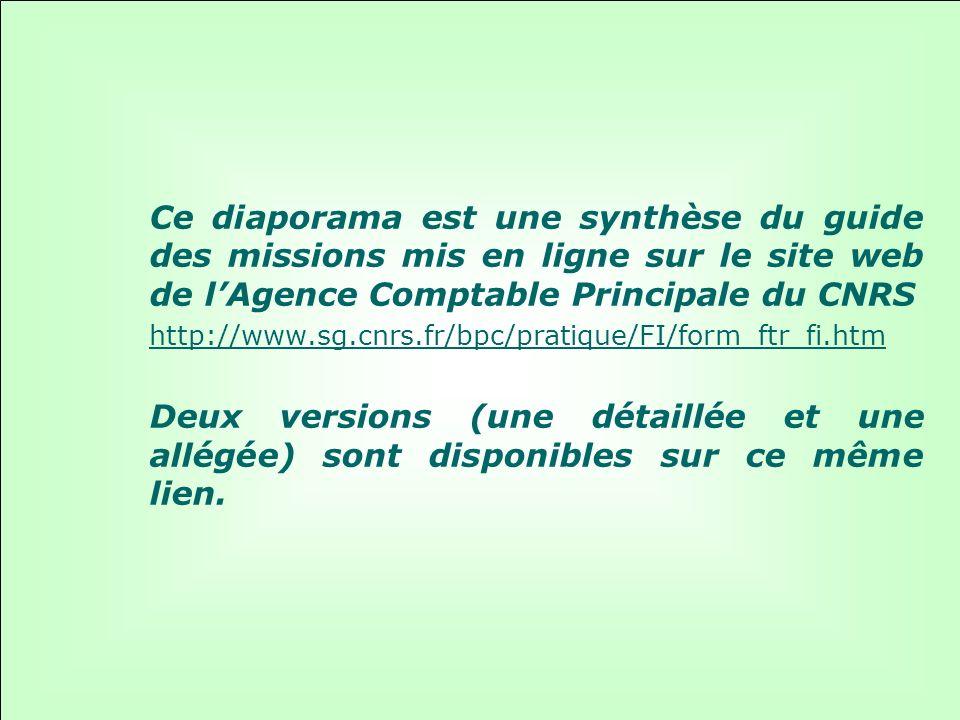 43 Guide des missions : ACP