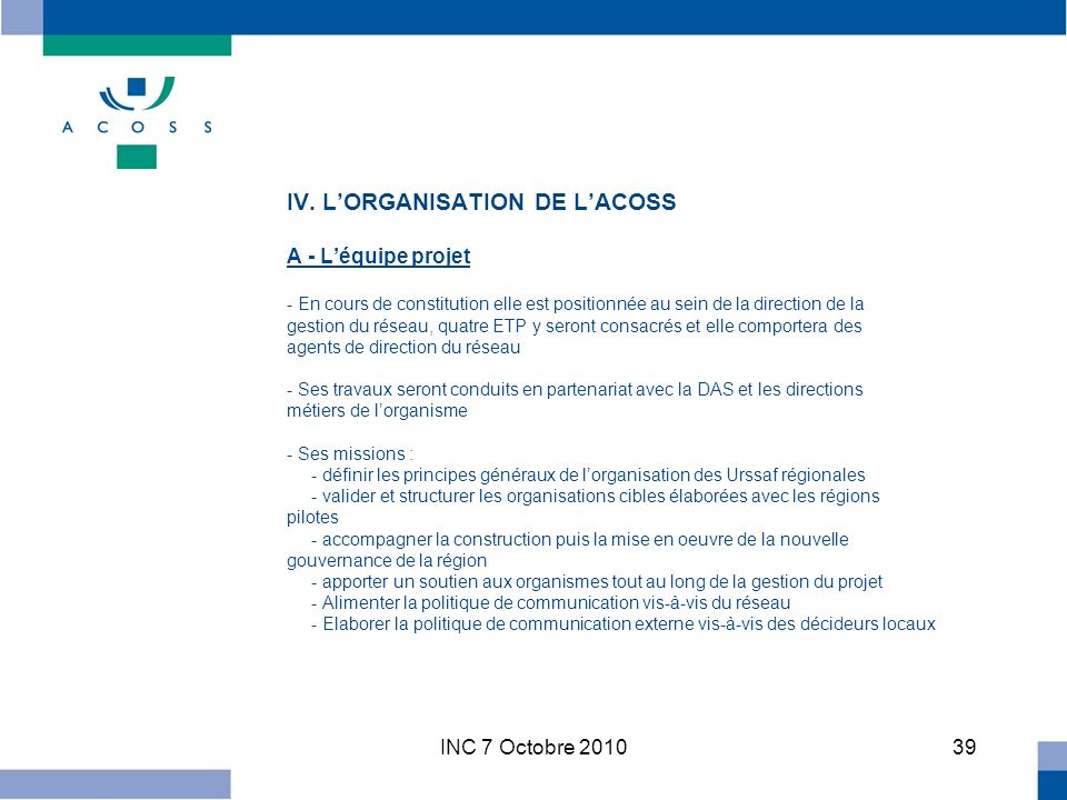 INC 7 Octobre IV.