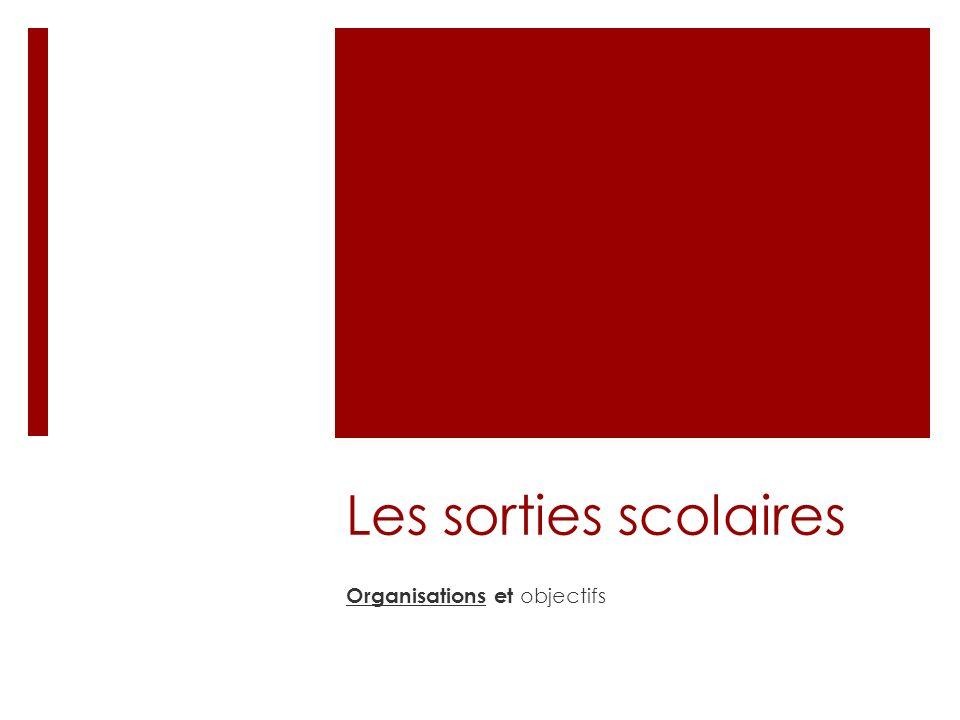 Textes de référence Circulaire n° 99-136 du 21 septembre 1999 parue au BO HS n°7 du 23 septembre 1999 et BO n°19 du 13 mai 1999 pour les sorties hors territoires français.