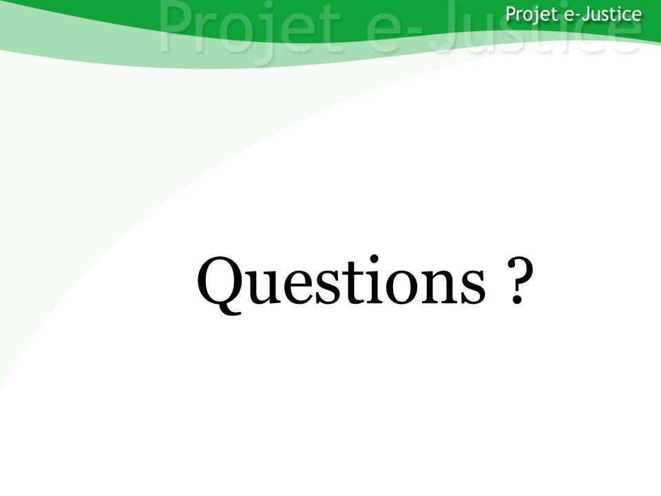 Projet e-JusticeYounès EL MECHRAFIPage n°44 Questions ?