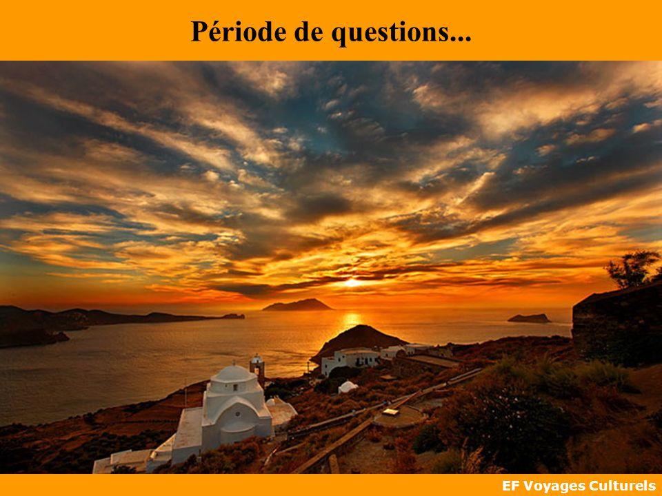 EF Voyages Culturels Période de questions...