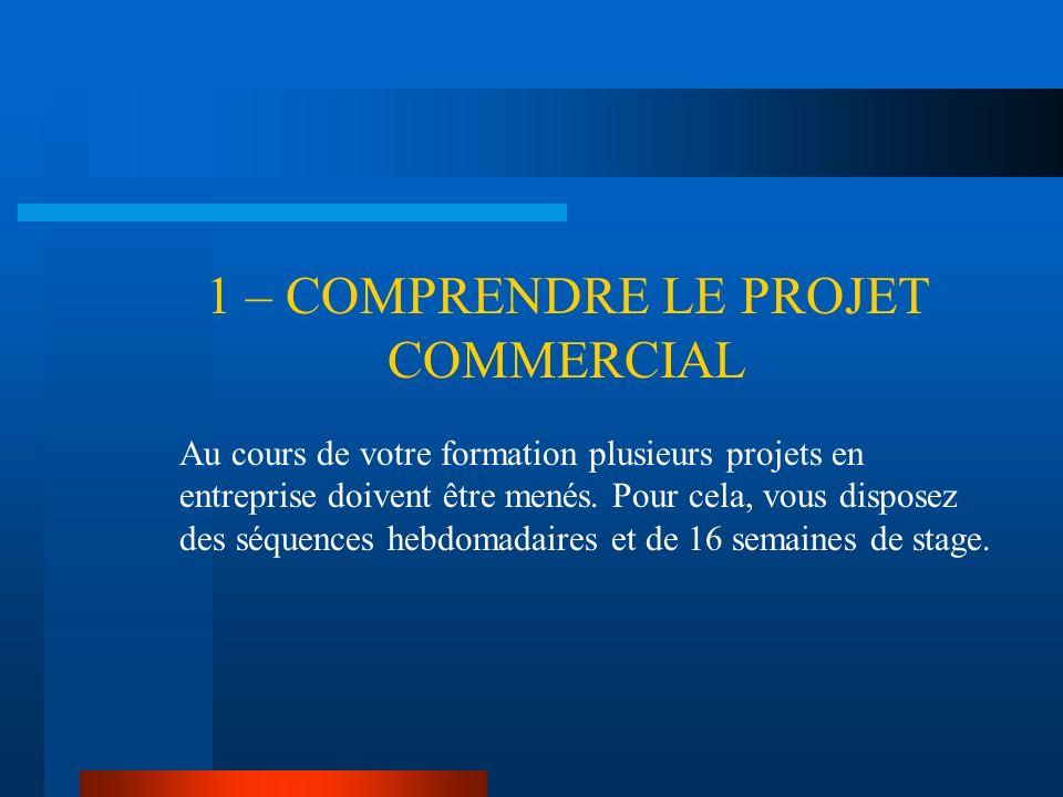 2 – DELIMITER LE PROJET COMMERCIAL La conformité dun projet avec le référentiel nest pas simple à établir, compte tenu de la variété des situations.