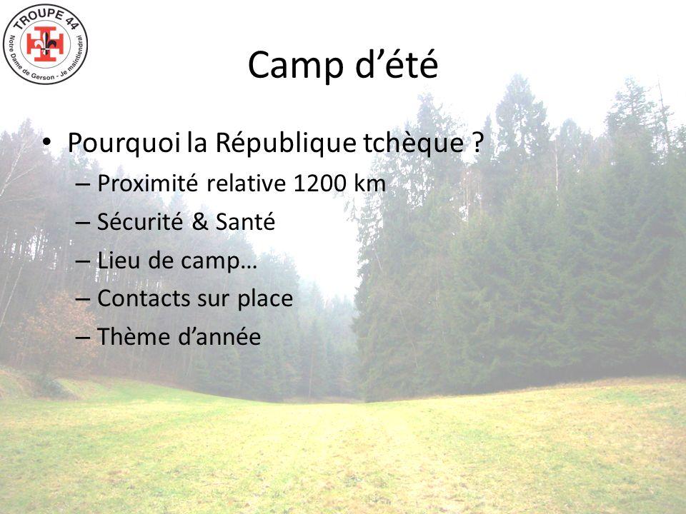 Présentation du lieu de camp Forêt profonde Lac Possibilité de faire du feu et de couper du bois Château de Kost
