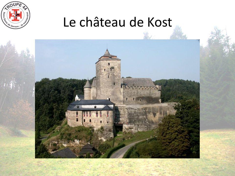 Le château de Kost