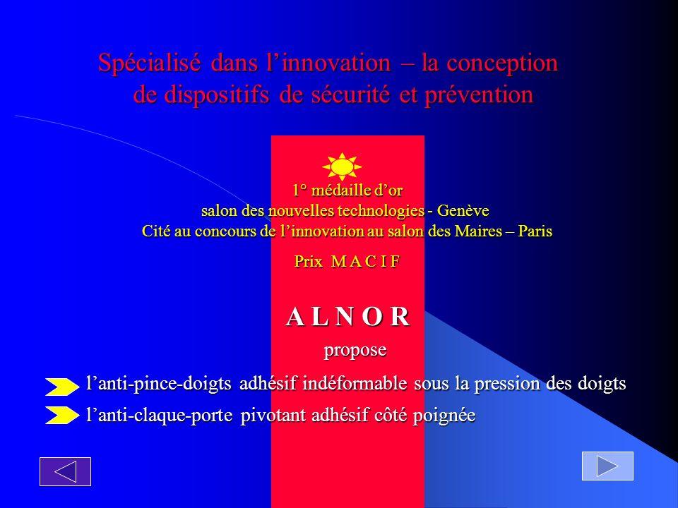 DEUX PRODUITS COMPLEMENTAIRES DE QUALITE POUR UNE TOTALE SECURITE Pour toute question ou une étude personnalisée: C ontact: Ligne directe 0033 (0) 1 48 85 82 20 0033 (0) 4 67 55 83 26 vidéo de démonstration sur notre site www.alnor.fr courriel contact@alnor.fr ou alnor94@aol.com FIN DEBUT