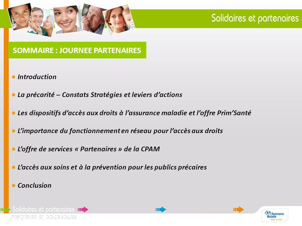 INTRODUCTION JOURNEE PARTENAIRES Marie-Cécile SAULAIS, Directrice CPAM 37