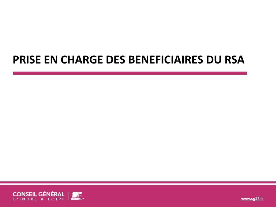 www.cg37.fr PRISE EN CHARGE DES BENEFICIAIRES DU RSA