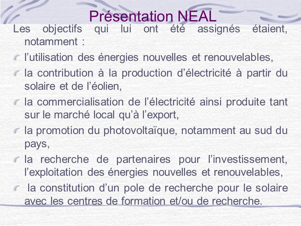 Activités de NEAL Etudes Des études menées, il en est ressorti que le potentiel le plus important, en Algérie, est le solaire et que le potentiel algérien en énergie solaire est le plus important de tout le bassin méditerranéen (169.440 TWh/an).