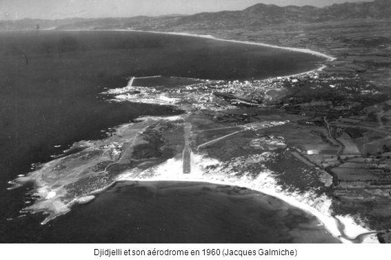 Djidjelli et son aérodrome en 1960 (Jacques Galmiche)