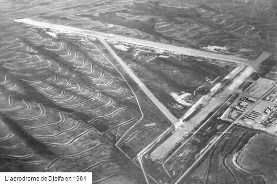 Laérodrome de Djelfa en 1961