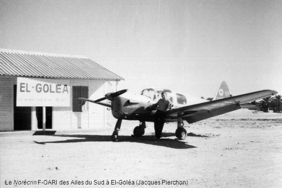Le Norécrin F-OARI des Ailes du Sud à El-Goléa (Jacques Pierchon)