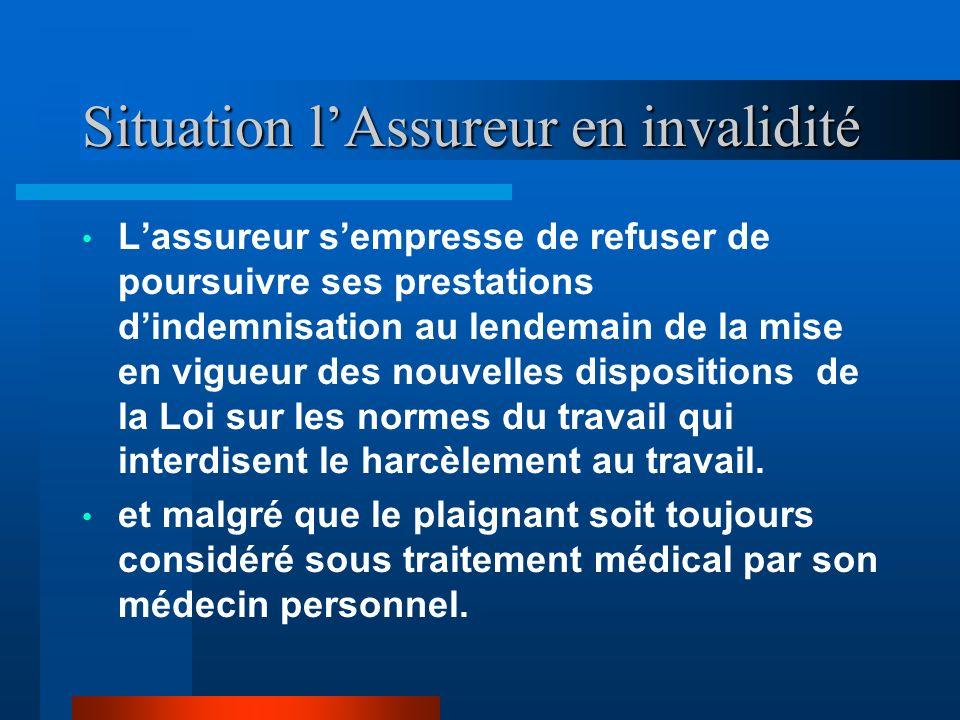 Situation Conseil Canadien des Relations Industrielles Le plaignant a pourtant été reconnu comme ayant fait ses preuves dans un autre bureau de poste.