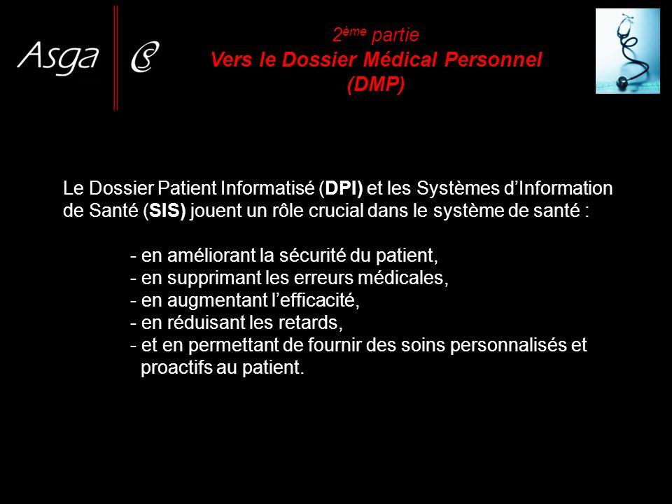Le Dossier Patient Informatisé (DPI) et les Systèmes dInformation de Santé (SIS) jouent un rôle crucial dans le système de santé : - en améliorant la