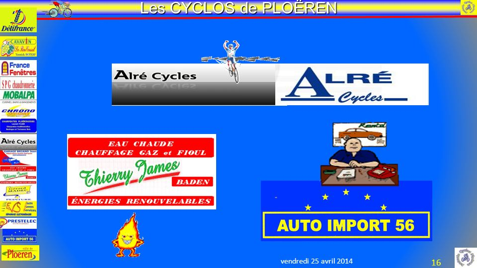 vendredi 25 avril 2014 Les CYCLOS de PLOËREN 16