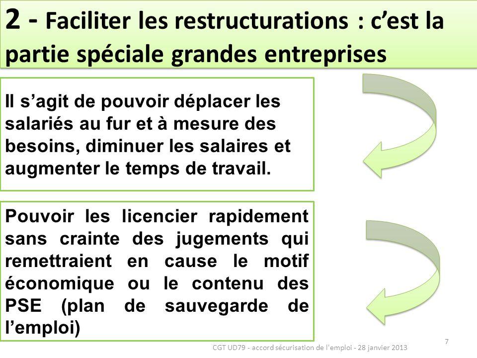 8 Mobilité interne (art 15) création dune obligation triennale de négociation pour organiser la mobilité dans lentreprise.