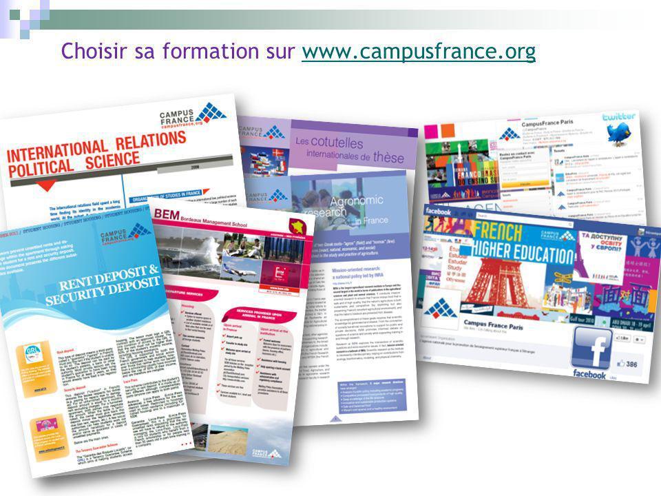 Choisir sa formation sur www.campusfrance.orgwww.campusfrance.org