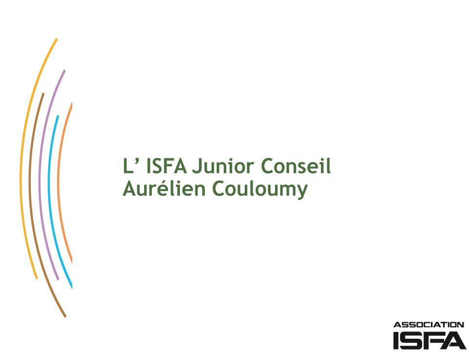 L ISFA Junior Conseil Aurélien Couloumy