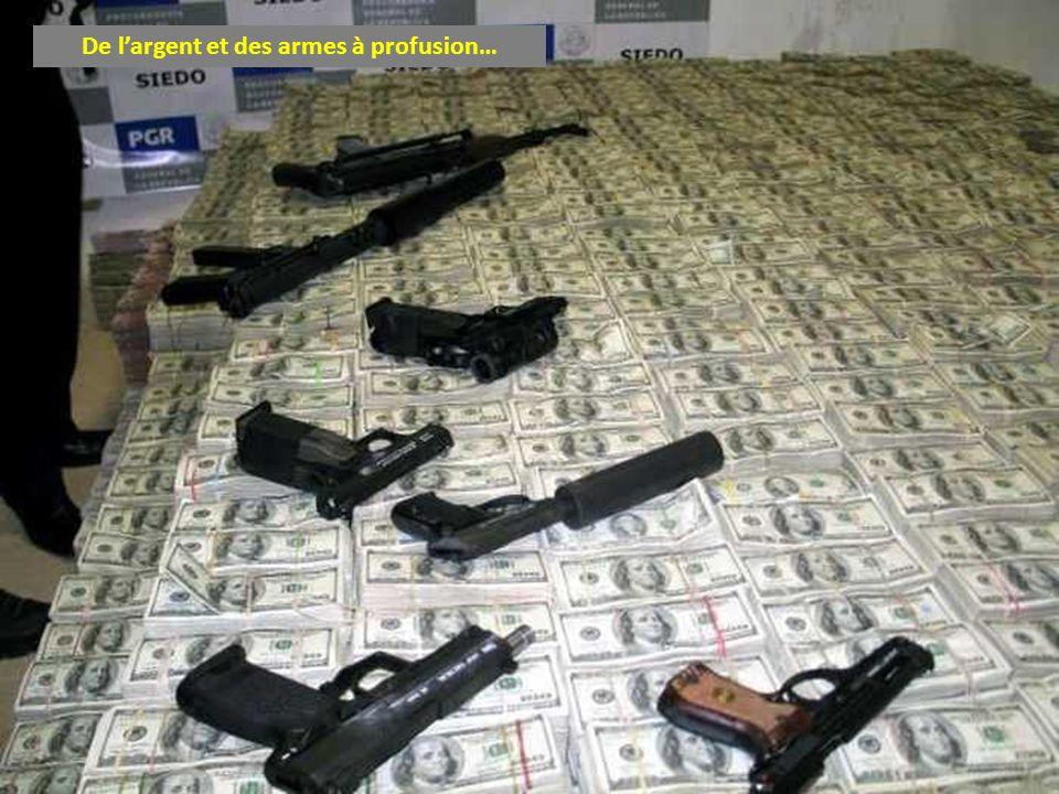 De largent et des armes à profusion…