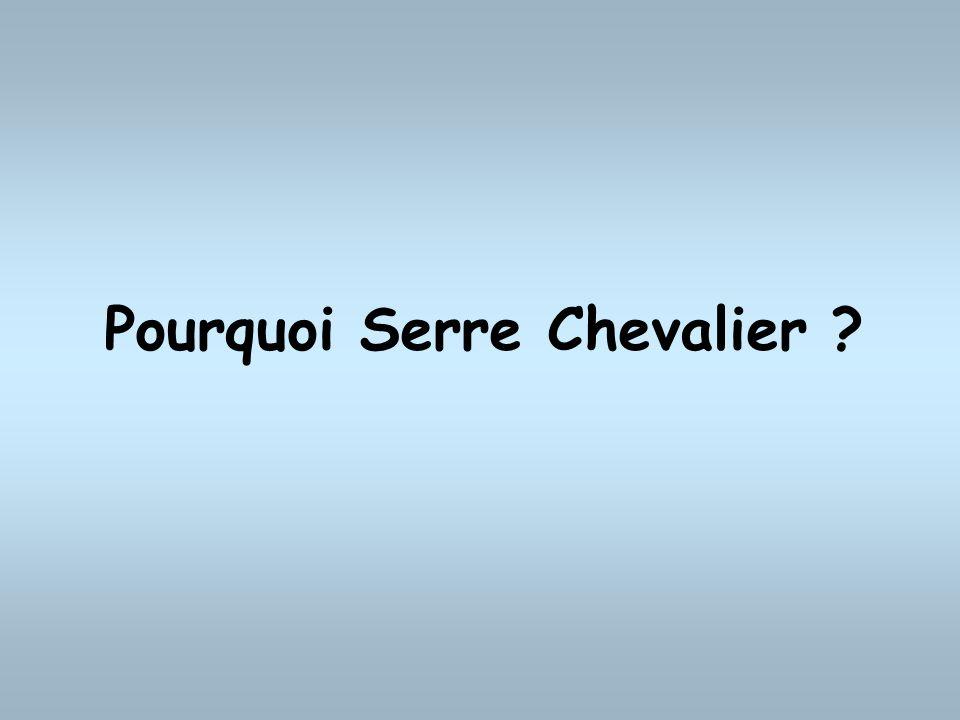 Pourquoi Serre Chevalier ?