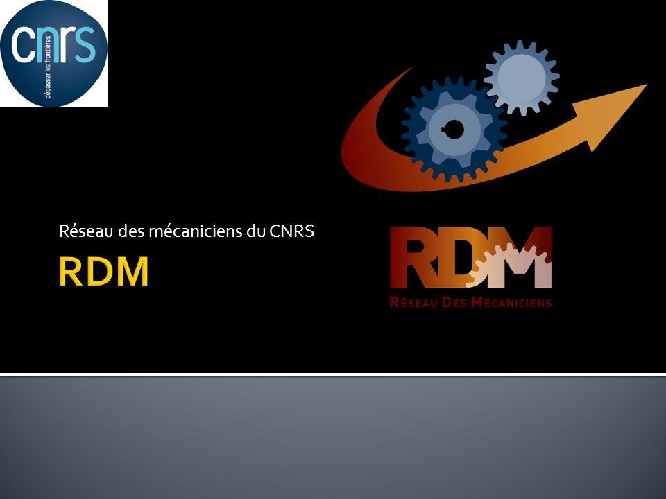 Réseau des mécaniciens du CNRS