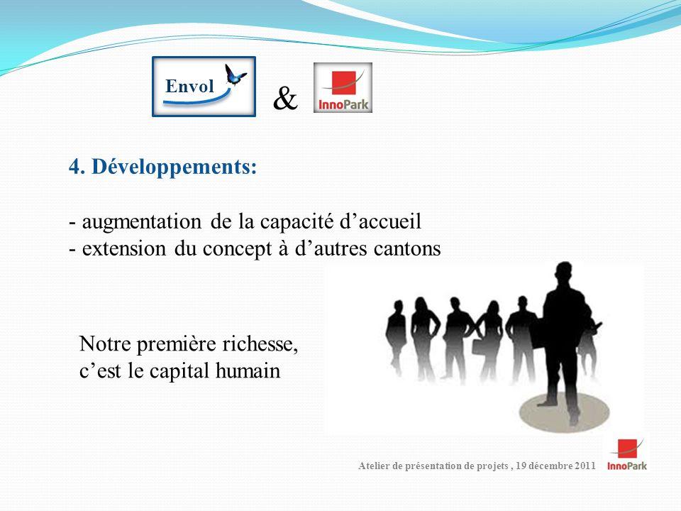 Atelier de présentation de projets, 19 décembre 2011 Envol & 4.