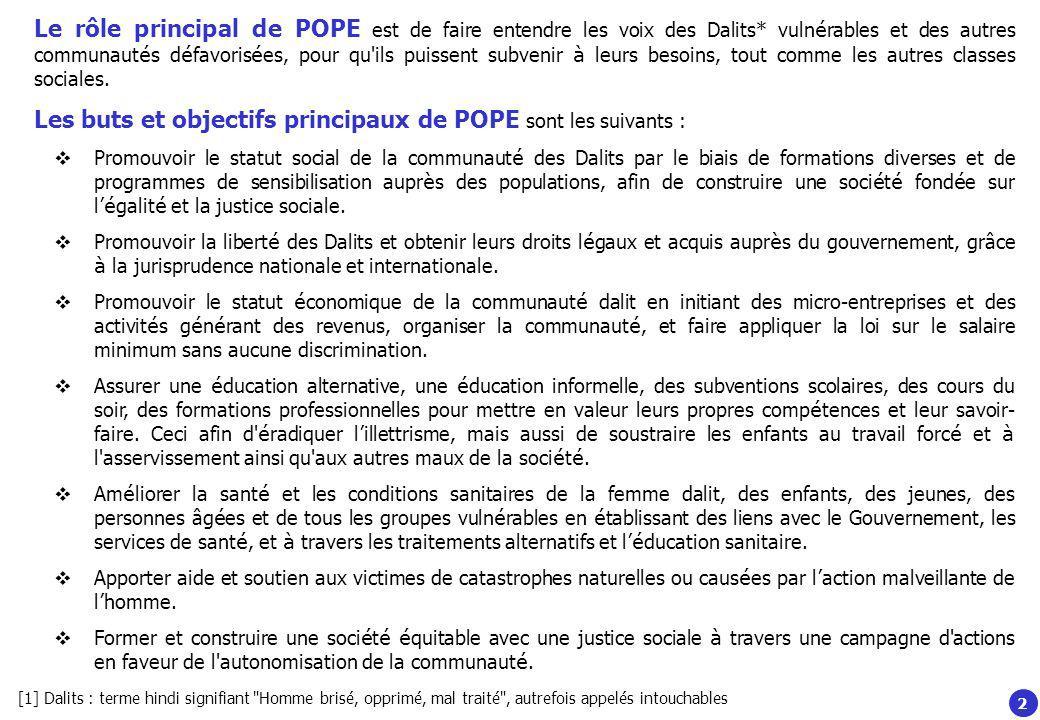 Qui est ROSARIO, le directeur de POPE .