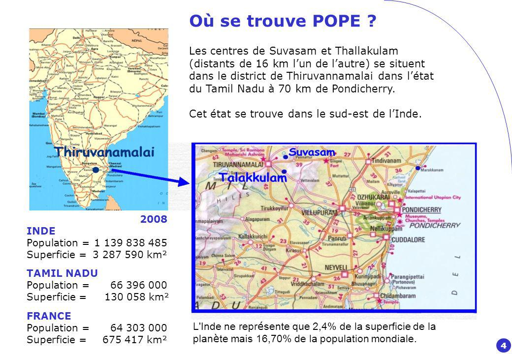 Où se trouve POPE .