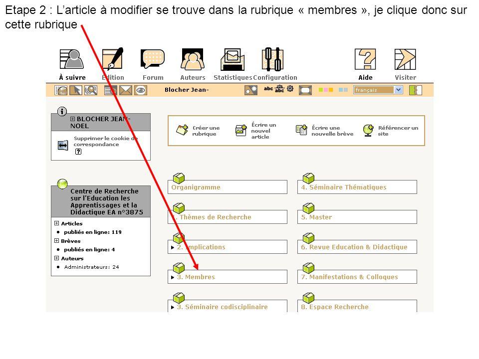 Jaccède alors à la partie privée du site, directement dans le cœur de la rubrique « outils ».