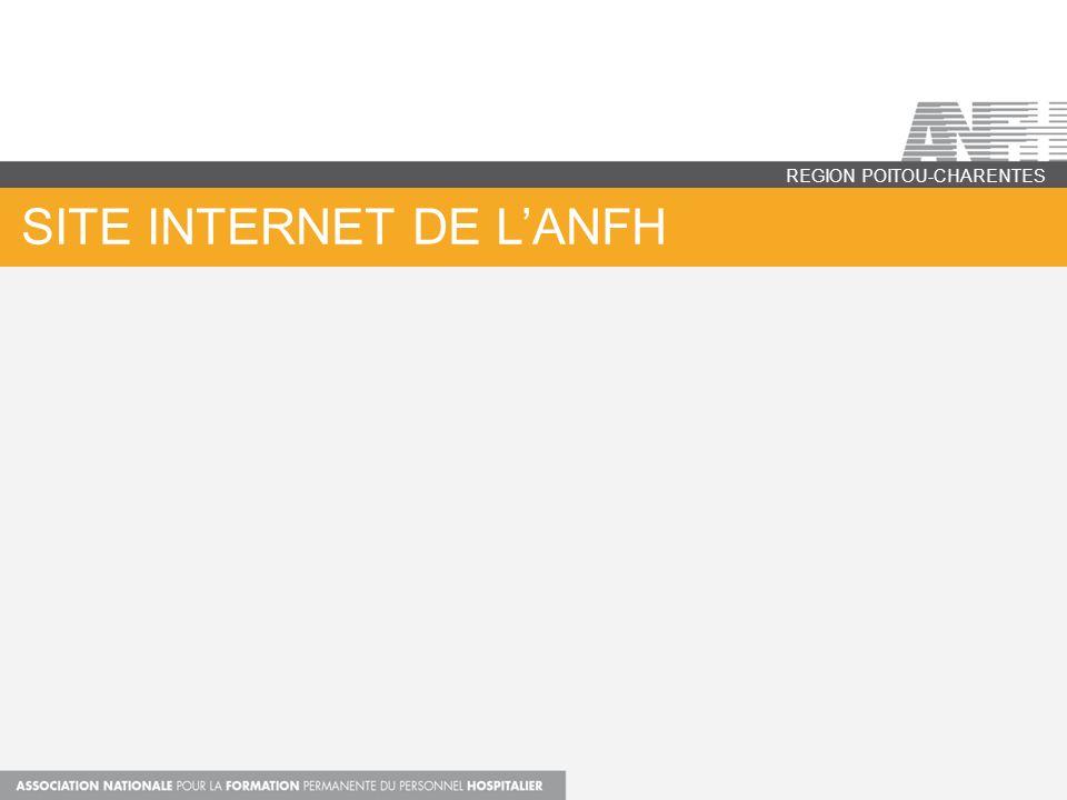 SITE INTERNET DE LANFH REGION POITOU-CHARENTES