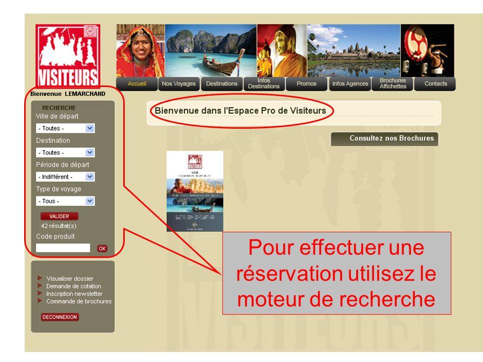 Paris ou Province Mois de départ Destination Consultez la sélection du moteur de recherche