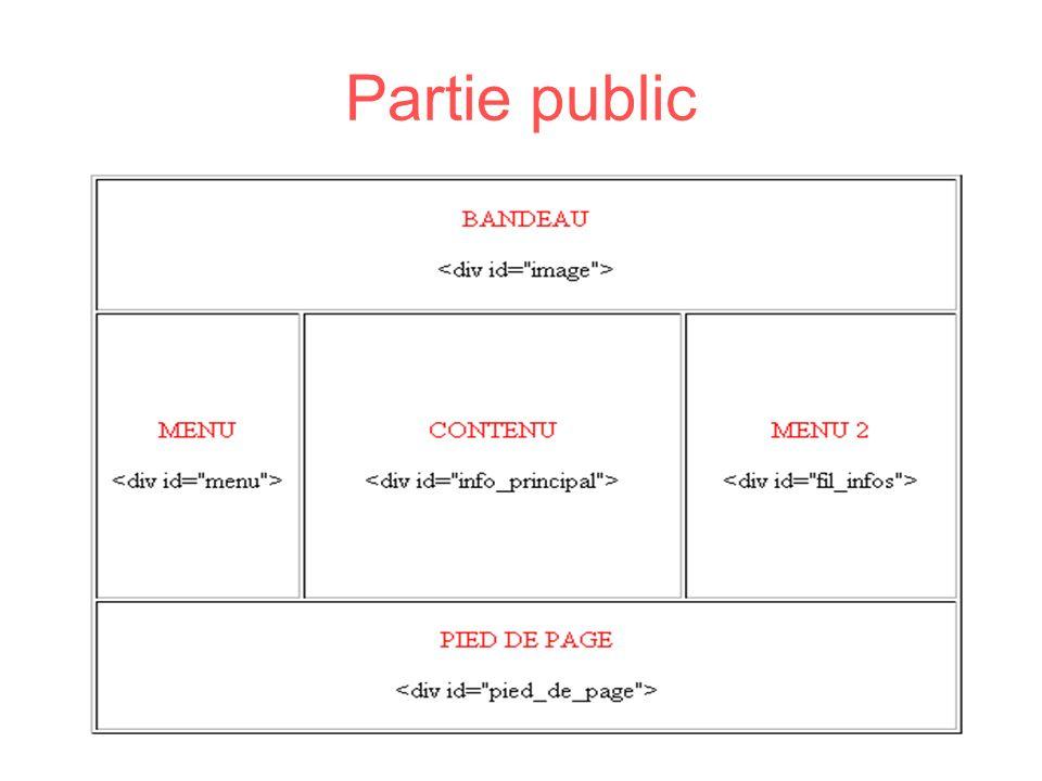 Partie public
