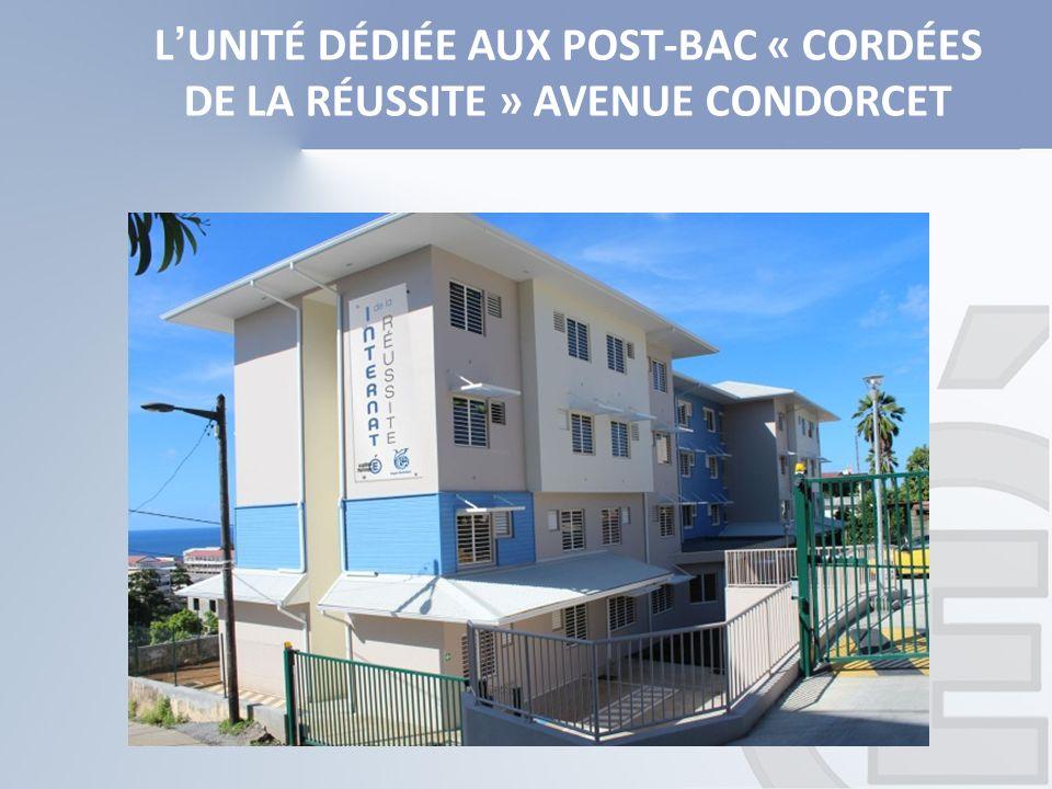LUNITÉ DÉDIÉE AUX POST-BAC « CORDÉES DE LA RÉUSSITE » AVENUE CONDORCET