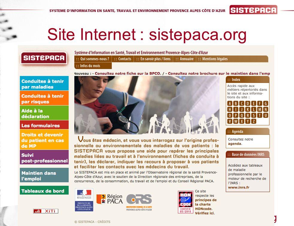 Site Internet : sistepaca.org