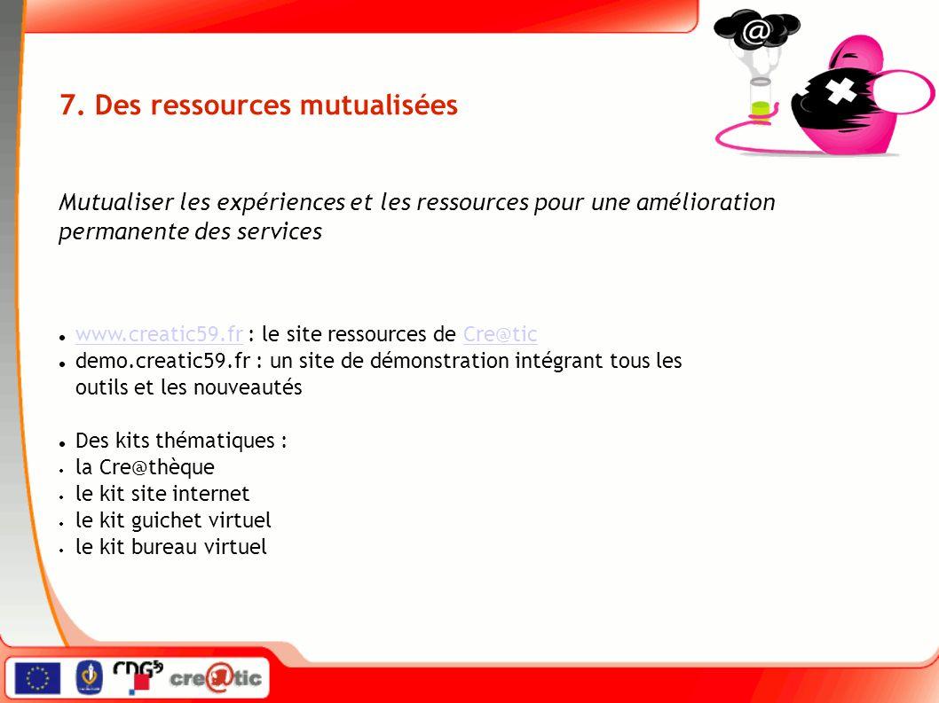 www.creatic59.fr : le site ressources de Cre@tic www.creatic59.frCre@tic demo.creatic59.fr : un site de démonstration intégrant tous les outils et les