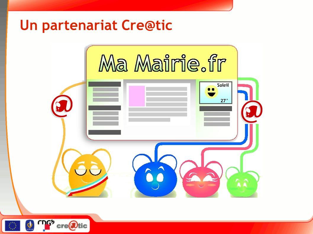 Un partenariat Cre@tic