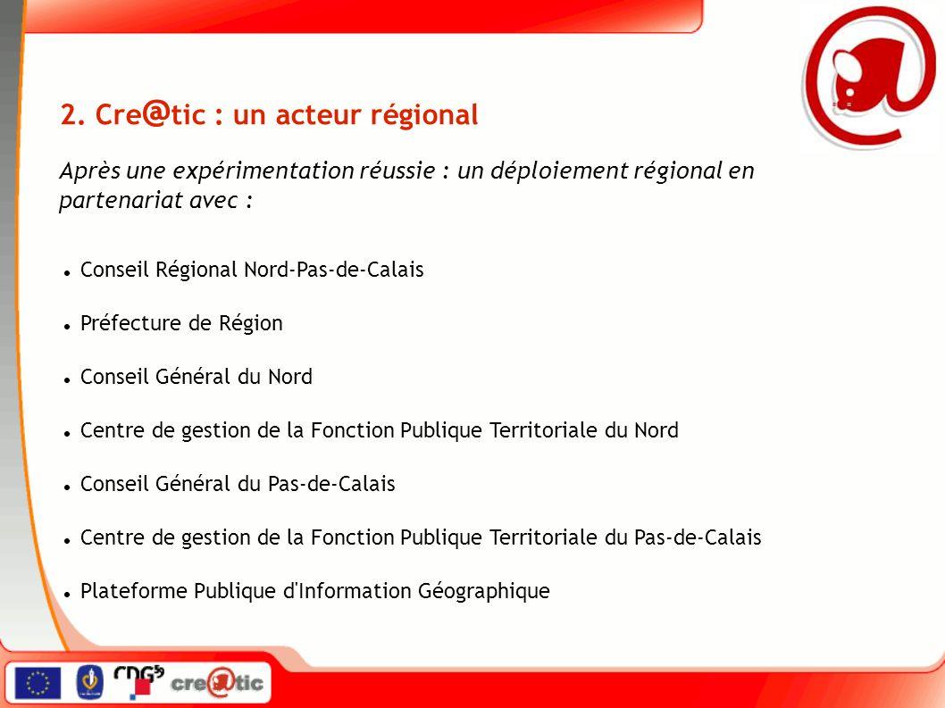 Conseil Régional Nord-Pas-de-Calais Préfecture de Région Conseil Général du Nord Centre de gestion de la Fonction Publique Territoriale du Nord Conseil Général du Pas-de-Calais Centre de gestion de la Fonction Publique Territoriale du Pas-de-Calais Plateforme Publique d Information Géographique 2.