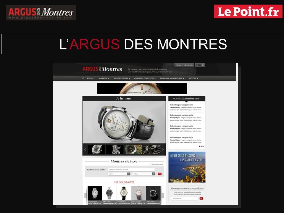 LES ORIGINES Conçu en 2009 par un passionné pour des passionnés, lArgus des Montres est rapidement devenu le site de référence dans lunivers des montres de collection.